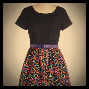 ModCloth crayon dress